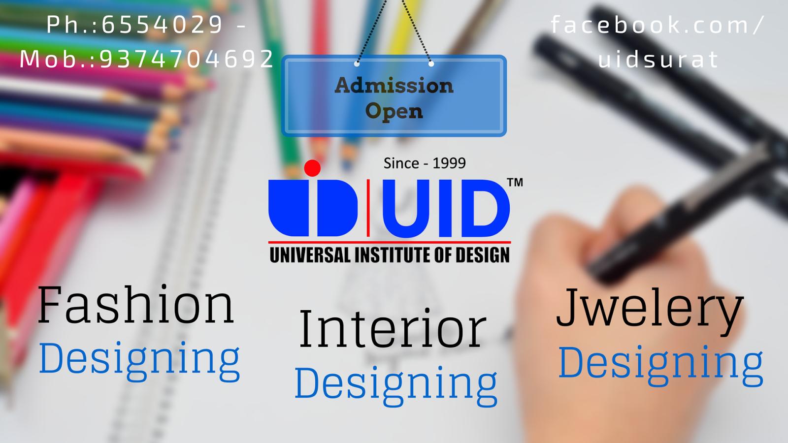Uid Universal Institute Of Design Athwa Surat Reviews Fee Structure Admission Form Address Contact Rating Directory